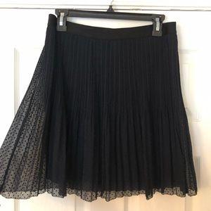 Vintage polyester black Fossil skirt